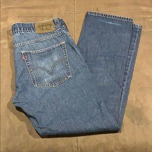Men's Levi's 511 Jeans Skinny 36x30 Vintage